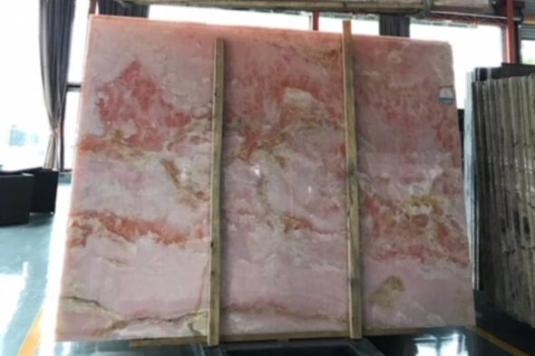 types of pink onyx , tiles , slab and quarry - iranian pink onyx